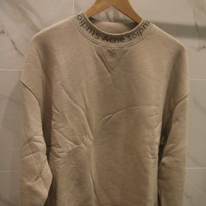 Acne Studio Navid Logo Crewneck Flogho Medium